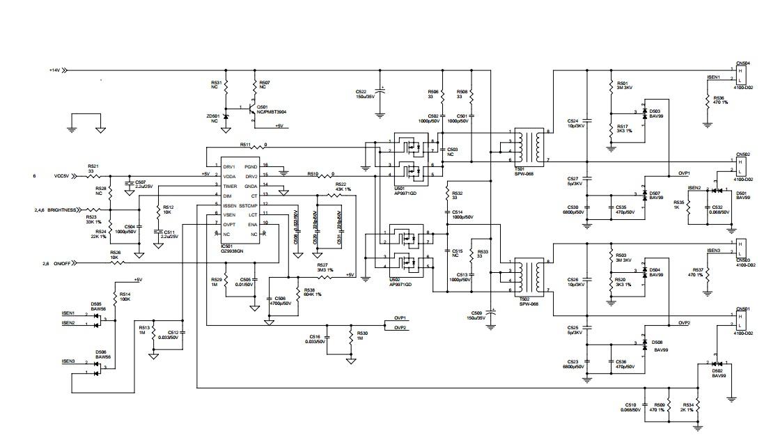 Схема питания жк монитора фото 182